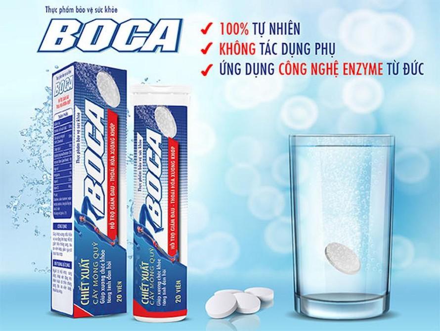 'Nổ quá đà' thực phẩm chức năng Boca bị xử phạt