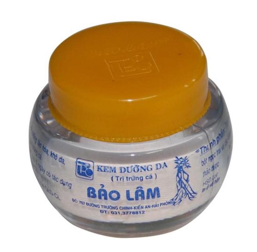 Kem làm trắng da, trị mụn Bảo Lâm chứa Dexamethason acetat đã từng bị thu hồi tháng 8/2019.