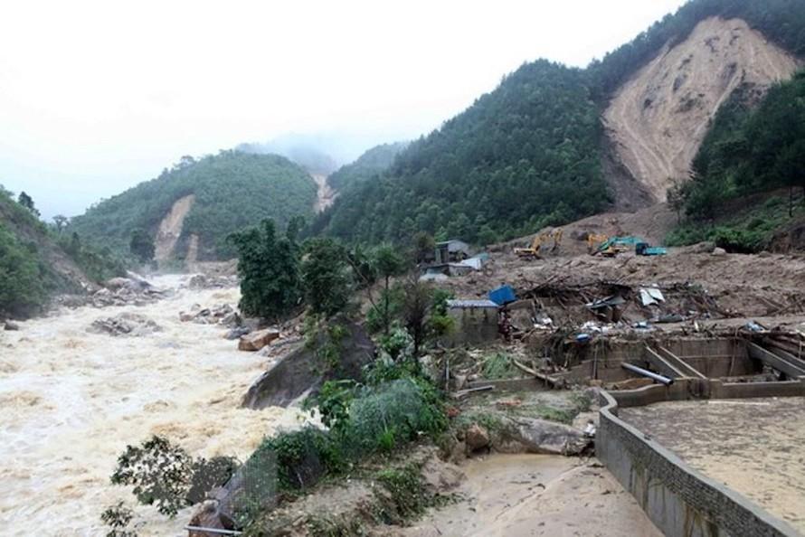 Mưa to nguy cơ xảy ra lũ quét, sạt lở đất và ngập úng cục bộ tại các tỉnh miền núi Bắc Bộ. (Ảnh minh hoạ).