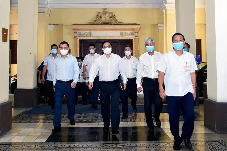 Thủ tướng Phạm Minh Chính làm việc với TPHCM, giải quyết những vấn đề trọng tâm, cấp bách của TP