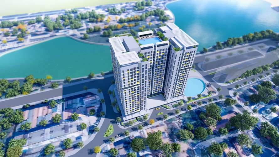 Phối cảnh dự án Rice City Long Biên