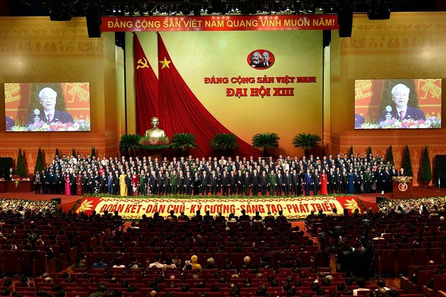 Đại hội đại biểu toàn quốc lần thứ XIII của Đảng.
