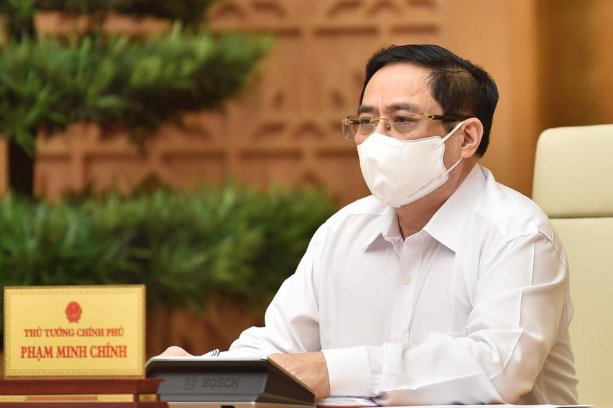 Thủ tướng Chính phủ Phạm Minh Chính triệu tập cuộc họp trực tuyến với tỉnh Bắc Giang, Bắc Ninh và các lực lượng chống dịch tại địa phương này.