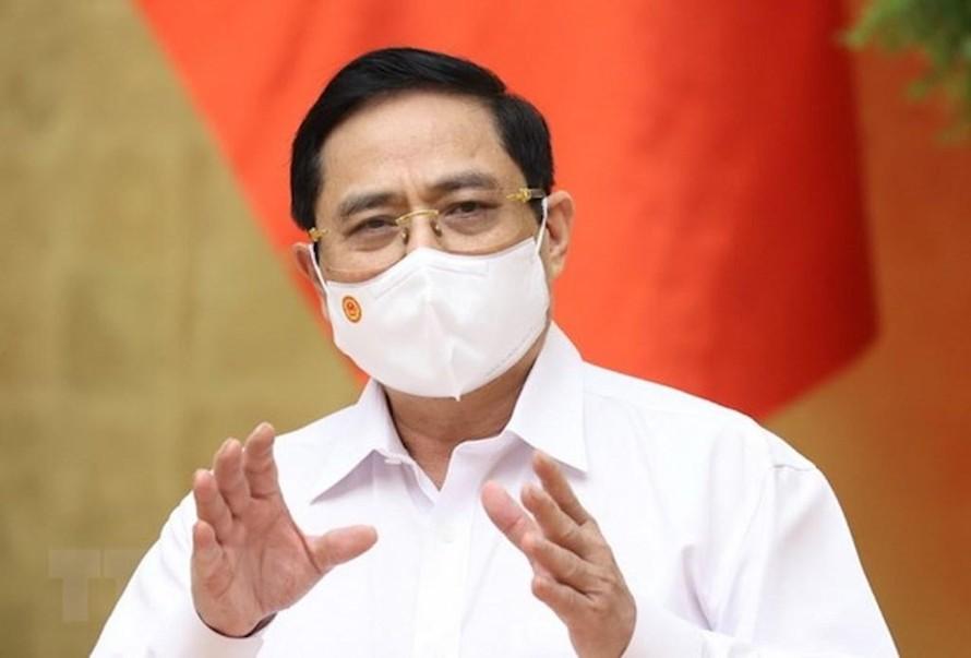 Thủ tướng Phạm Minh Chính yêu cầu các bộ, ngành khẩn trương triển khai các biện pháp tháo gỡ khó khăn cho hai tỉnh Bắc Giang và Bắc Ninh chống dịch và xuất khẩu nông sản.