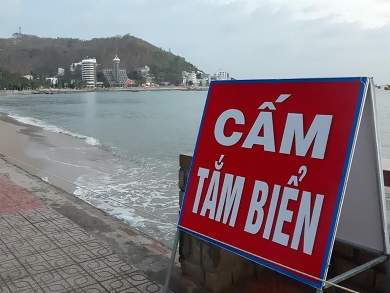 Bà Rịa-Vũng Tàu: Cấm tắm biển, tạm dừng vận tải hành khách để phòng, chống dịch COVID-19