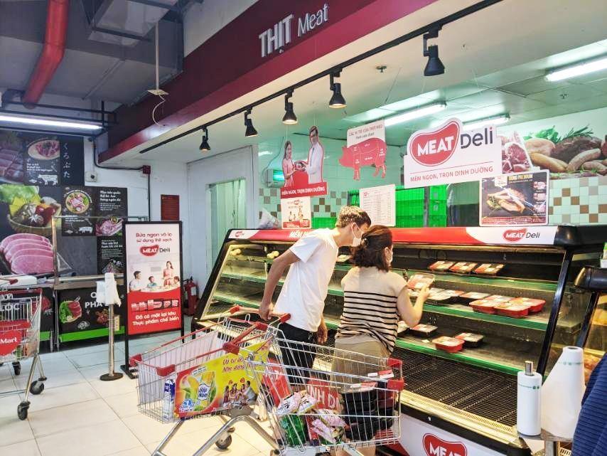 Cháy hàng thịt heo sạch, gà tươi ngay sau chỉ thị giãn cách Tp.Hồ Chí Minh