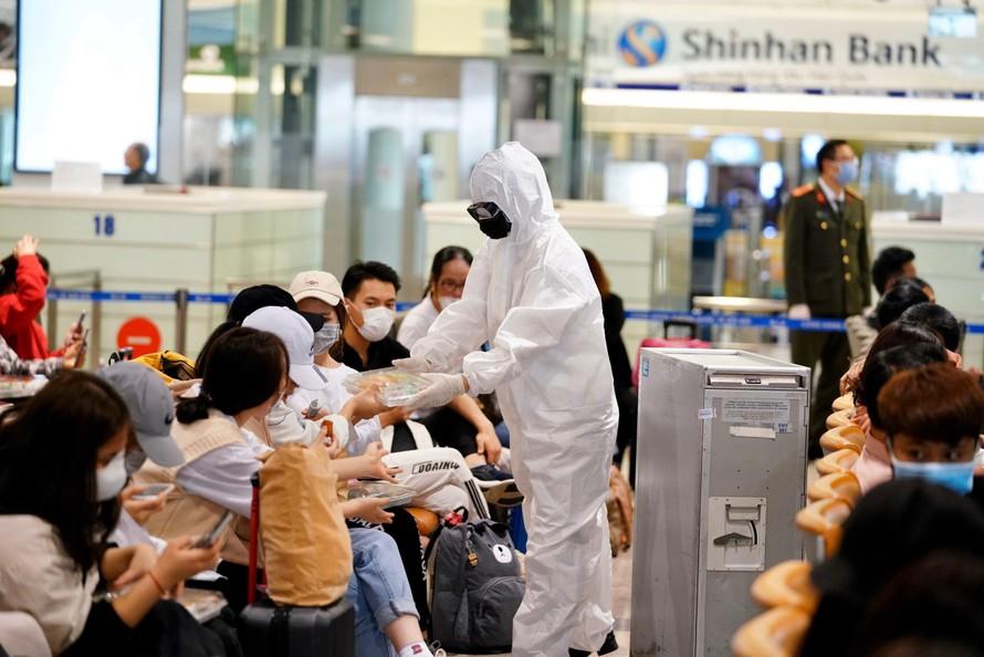 Sân bay Nội Bài sẽ tạm dừng nhập cảnh hành khách từ ngày 1/6 đến hết 7/6. (Ảnh minh hoạ)