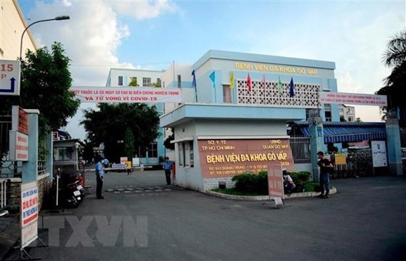 Bệnh viện Đa khoa quận Gò Vấp.