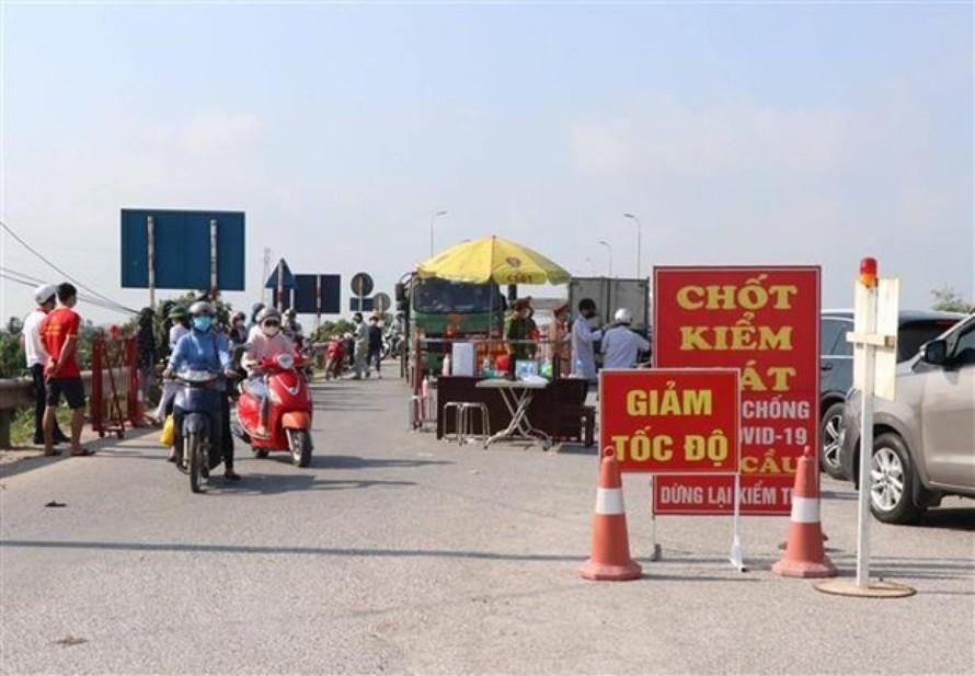 4 huyện của tỉnh Bắc Ninh được giảm mức độ giãn cách