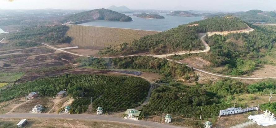 Một góc Khu đô thị-du lịch Đại Ninh (huyện Đức Trọng, tỉnh Lâm Đồng).