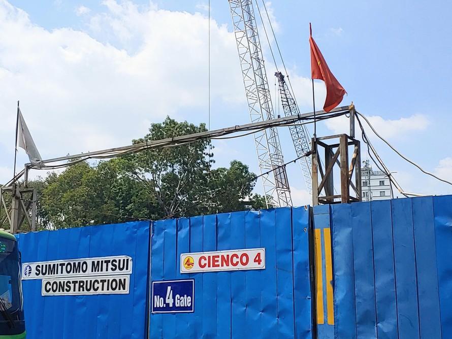 Dự án Khu Tứ giác Bến Thành tại quận 1 (TP.HCM) do CIENCO 4 thực hiện.