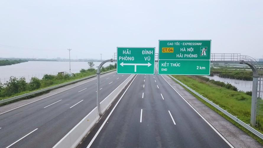Bộ GTVT: Đề xuất giảm 30% giá vé cho xe lưu thông cao tốc Hà Nội - Hải Phòng
