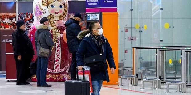 Một du khách Trung Quốc tại Nga. (Nguồn: Getty Images)