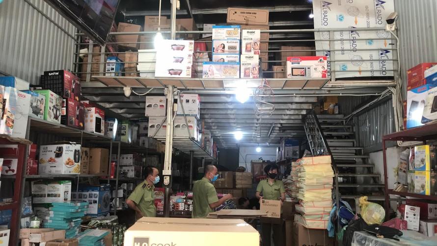 Cơ sở kinh doanh Quỳnh Hoan tại địa chỉ Tổ 17, Bắc Lãm, Phú Lương, Hà Đông, Hà Nội. Ảnh Tuấn Linh