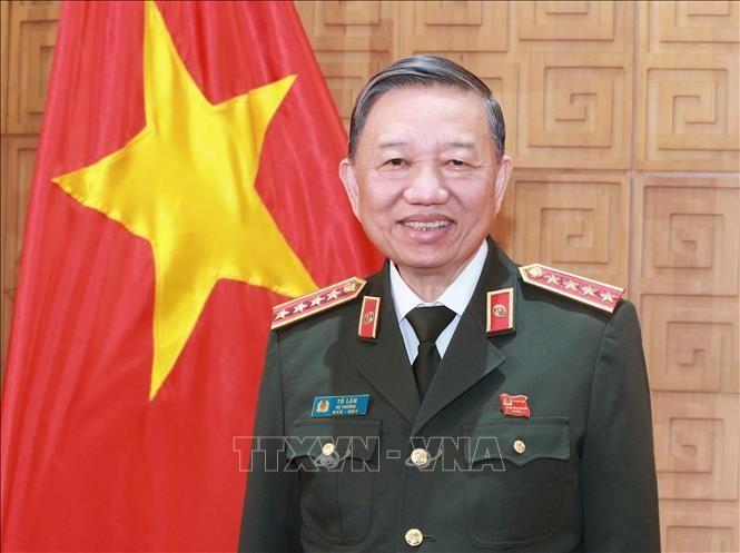 Đại tướng Tô Lâm, Ủy viên Bộ Chính trị, Bộ trưởng Bộ Công an. Ảnh: TTXVN