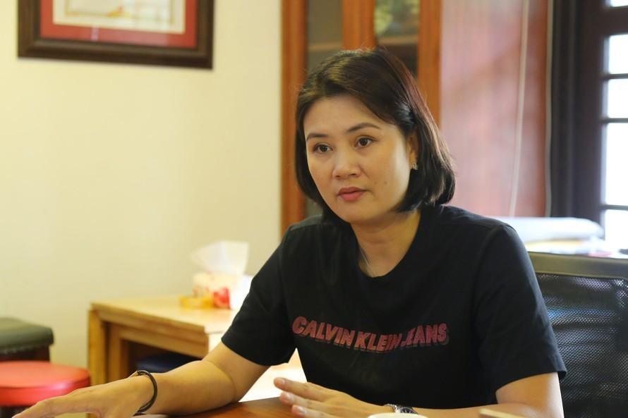 VFV sẽ phải xem xét lại toàn bộ vụ việc của HLV Phạm Thị Kim Huệ theo ý kiến của Bộ VH-TT&DL (ảnh Anh Tú).