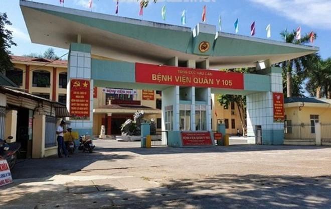 BV Quân Y 105 (Sơn Tây, Hà Nội).