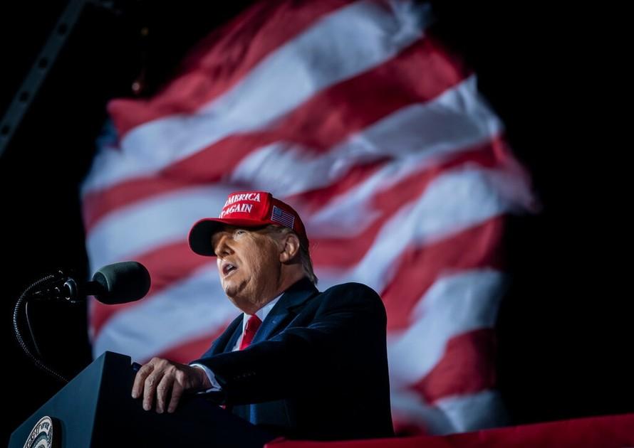 Tổng thống Mỹ Donald Trump. (Ảnh minh hoạ: New York Times)