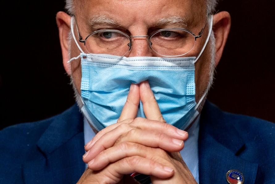 Robert Redfield, Giám đốc Trung tâm Kiểm soát và Phòng ngừa Dịch bệnh Mỹ. (Ảnh: New York Times)