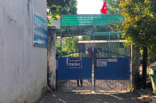 Trường THPT Vĩnh Xương, An Giang, nơi xảy ra sự việc.(Ảnh: Tiền phong)