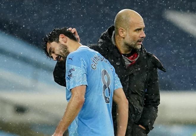 Nhiều trận đấu của Man City đứng trước nguy cơ bị buộc tạm hoãn vì CLB xuất hiện nhiều ca nhiễm nCoV. Ảnh: Reuters.