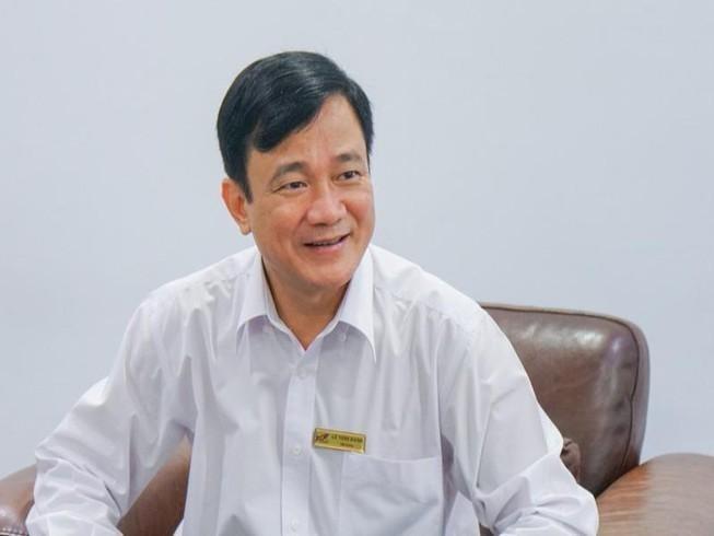 Ông Lê Vinh Danh, cựu Hiệu trưởng trường Đại học Tôn Đức Thắng, TP.HCM (Ảnh: Pháp luật TP.HCM)