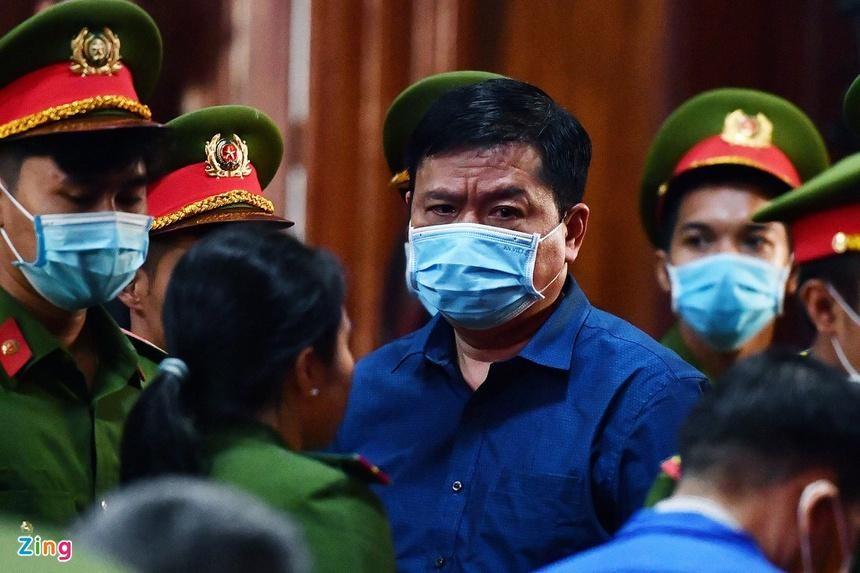 Ông Đinh La Thăng đang chấp hành bản án 30 năm tù. Ảnh: Phạm Ngôn/Zing