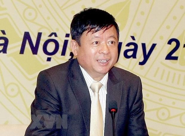 Phó giáo sư, tiến sỹ, nhạc sỹ Đỗ Hồng Quân, Chủ tịch Hội Nhạc sỹ Việt Nam, Phó Chủ tịch Liên hiệp các Hội Văn học nghệ thuật Việt Nam. (Nguồn: TTXVN)