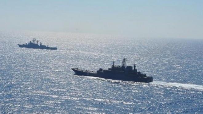Các tàu chiến Mỹ hiện diện ở Biển Đen. (Ảnh: An ninh Thủ đô)