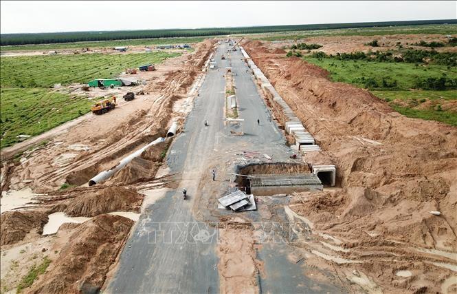 Khu tái định cư Lộc An - Bình Sơn được tỉnh Đồng Nai xây dựng nhằm tái định cư phục vụ triển khai Dự án Sân bay Long Thành. Ảnh: Công Phong/TTXVN