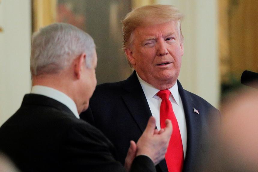 Ông Trump khi còn tại chức. Ảnh: Reuters.