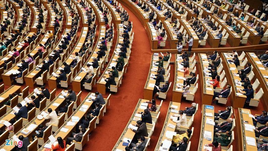 Theo dự kiến số lượng, cơ cấu, thành phần đại biểu Quốc hội khóa XV, có 95 đại biểu là ủy viên Trung ương, trong đó có 12-14 ủy viên Bộ Chính trị, Bí thư Trung ương Đảng. Ảnh: Hải Quân.