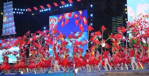 Lễ hội Hoa Phượng Đỏ năm 2021, với nhiều chương trình nghệ thuật đặc sắc, sôi động và sáng tạo hứa hẹn nhiều du khách đến thăm quan, khám phá TP. Hải Phòng. (Ảnh: Doanh nghiệp hội nhập)