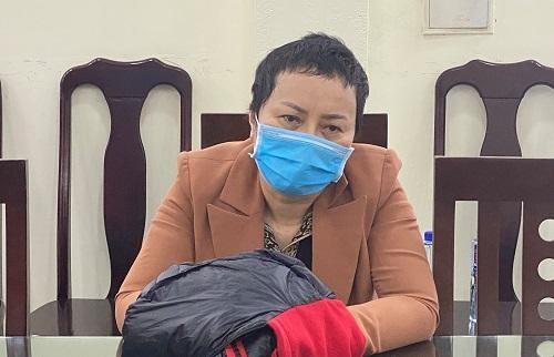 Bị can Nguyễn Thị Kim An, nguyên Giám đốc Sở Y tế tỉnh Sơn La.