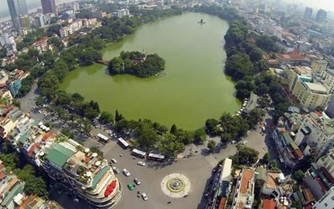 Hà Nội sẽ di dời bớt dân số, đồng thời hạn chế những công trình cao tầng tại 4 quận nội đô. (Ảnh: Internet)