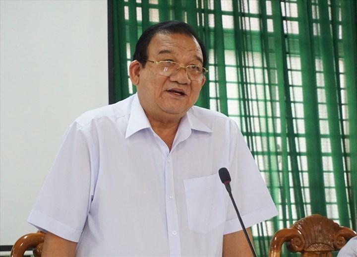 Ông Lê Minh Tấn, Giám đốc Sở Lao động - Thương binh và Xã hội (LĐ-TB&XH) TP.HCM. (Ảnh: Lao Động)