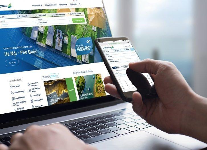 Xu hướng mua vé trực tuyến ngày càng phổ biến vì có nhiều tiện ích.
