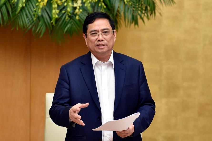 Thủ tướng Chính phủ Phạm Minh Chính. (Ảnh: Báo Chính phủ)