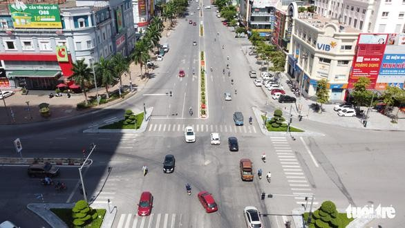 Một góc TP Vinh, Nghệ An. (Ảnh: Tuổi Trẻ)