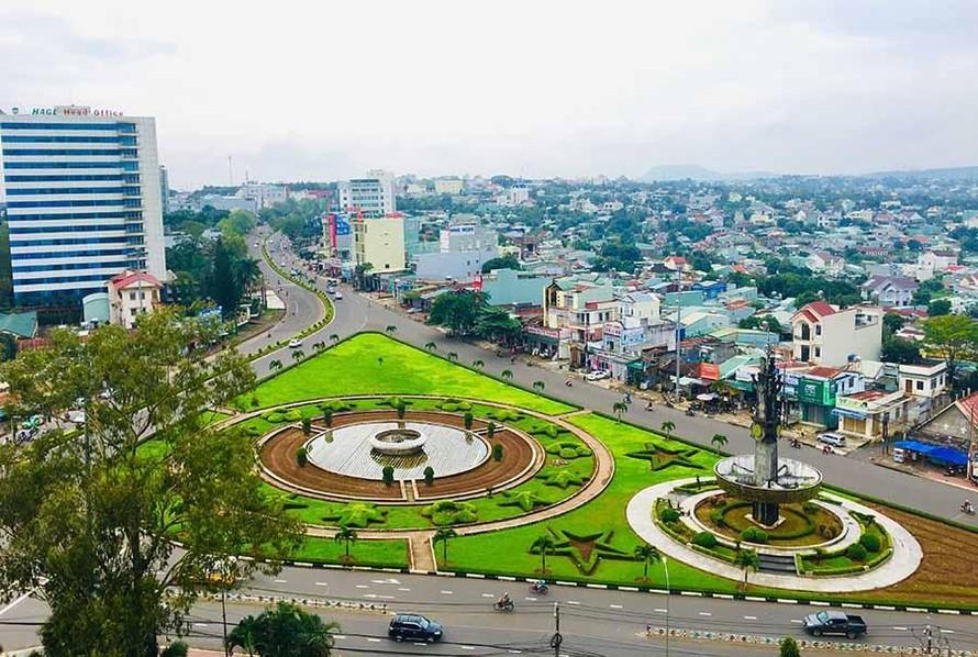 Thành phố Pleiku, tỉnh Gia Lai. (Ảnh: Báo Gia Lai)