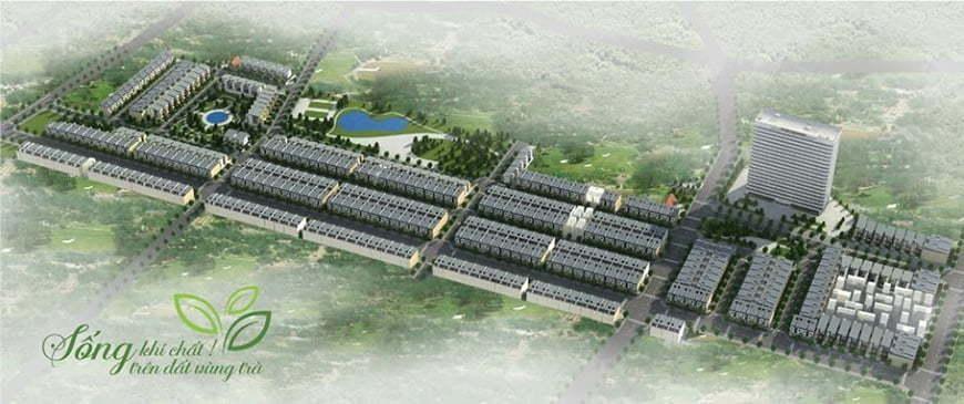 Phối cảnh Khu dân cư Phổ Yên New City. (Ảnh: Internet)
