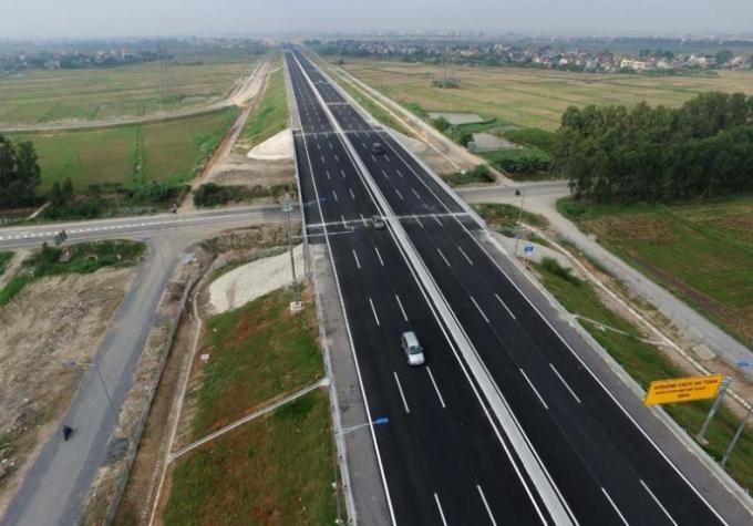 Đường cao tốc Bắc - Nam đoạn Nha Trang - Cam Lâm (Khánh Hòa) (Ảnh: Báo Khánh Hoà)