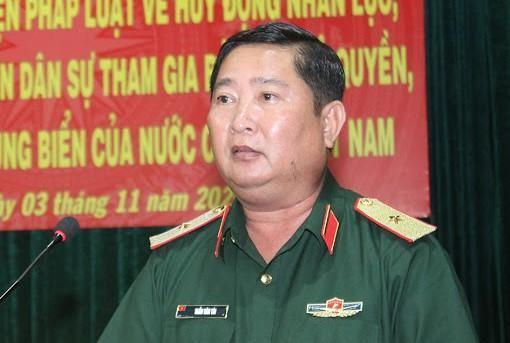 Thiếu tướng Trần Văn Tài bị cách chức Phó tư lệnh Quân khu 9 do có những vi phạm, khuyết điểm rất nghiêm trọng trong công tác và Ban Bí thư đã thi hành kỷ luật về đảng. (Ảnh: Tổ Quốc)