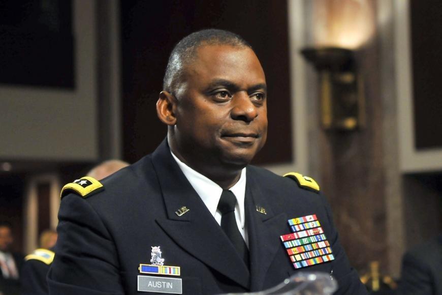 Bộ trưởng Quốc phòng Mỹ Lloyd Austin. Ảnh: AFP/Getty.