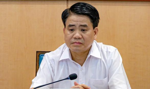 Cựu chủ tịch Hà Nội Nguyễn Đức Chung. (Ảnh: Tuổi trẻ)