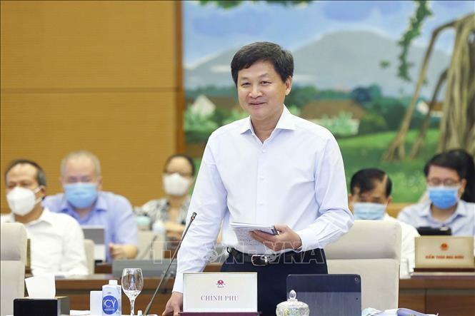 Phó Thủ tướng Lê Minh Khái. Ảnh: Doãn Tấn/TTXVN
