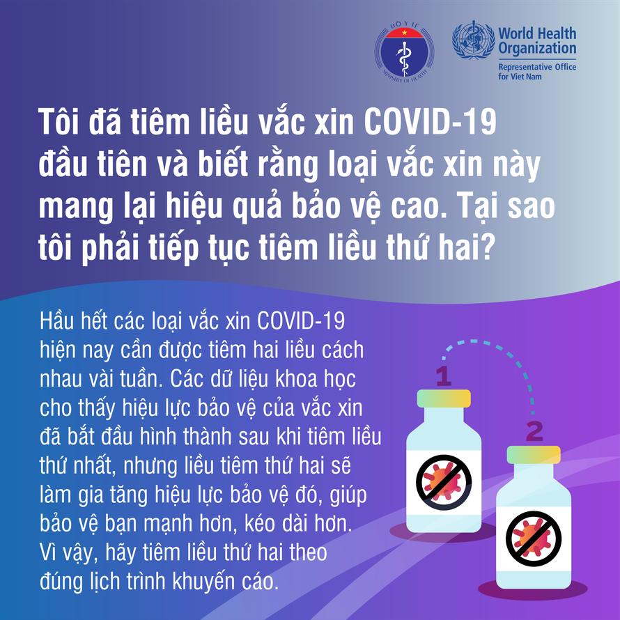 Cơ thể cần vài tuần để sinh ra miễn dịch sau khi tiêm vaccine COVID-19