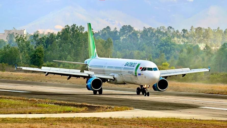 Bamboo Airways phối hợp thực hiện chuyến bay thứ 7 đưa công dân Bình Định về quê