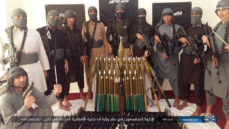 Những tay súng của tổ chức Hồi giáo cực đoan IS-K. (Ảnh: Paweł Wójcik)
