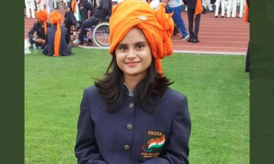 Avani Lekhara,người phụ nữ đầu tiên của Ấn Độ giành được huy chương vàng tại thế vận hội Paralympic. (Ảnh: Madhyamam)